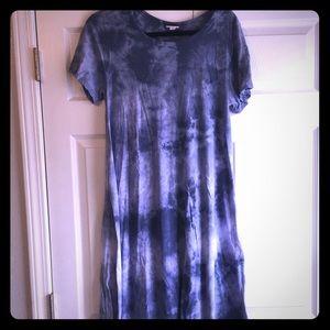 LuLaRoe Dresses - Tie dye Lularoe Carly Sz S